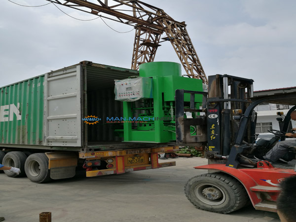 Terazzo tile machines shipped t